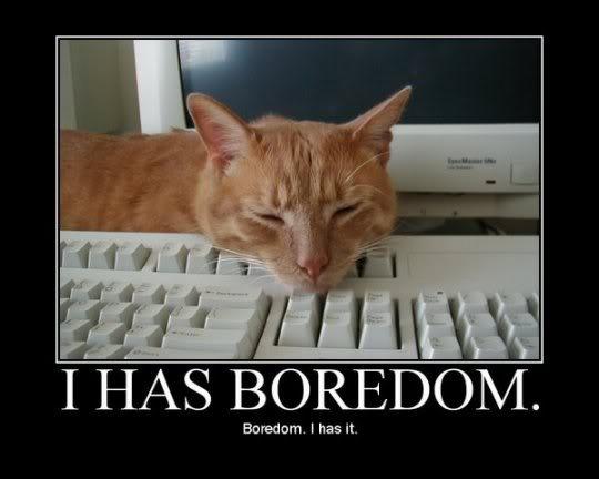 bored clom